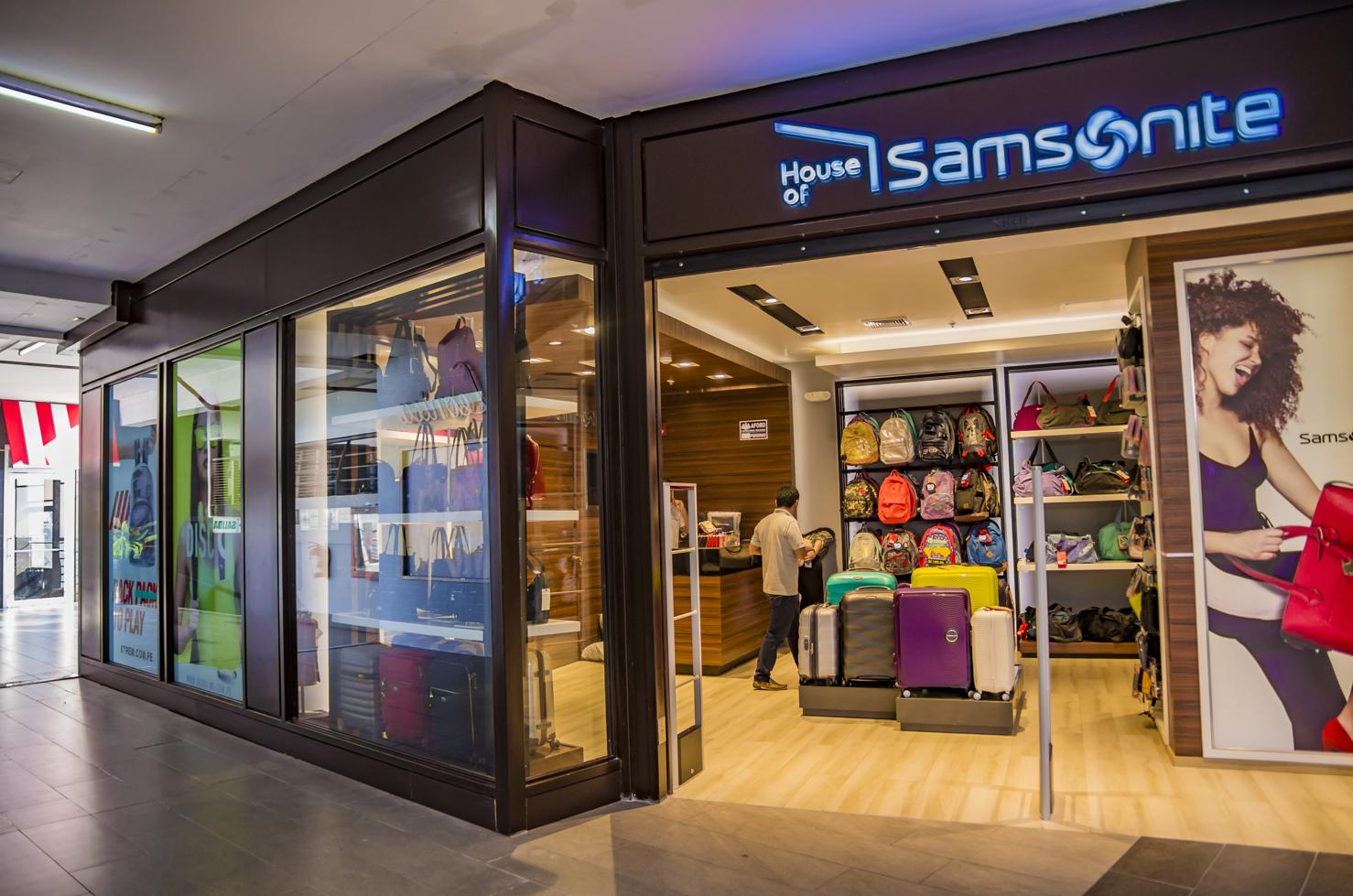 Tiendas Samsonite Larcomar